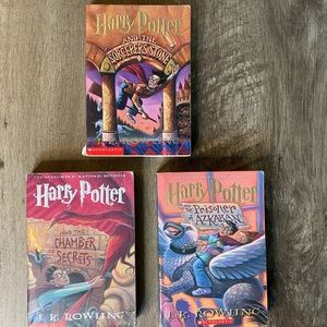 Set of 7 Harry Potter 1st Editions